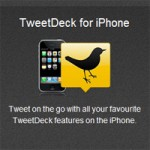 The New in v1.1.1 of the TweetDeck iPhone App